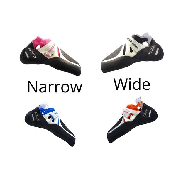 butora acro narrow or wide