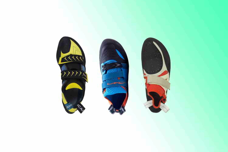Climbing shoes for wide feet scarpa Vapor V, butora Acro and evolv Shaman