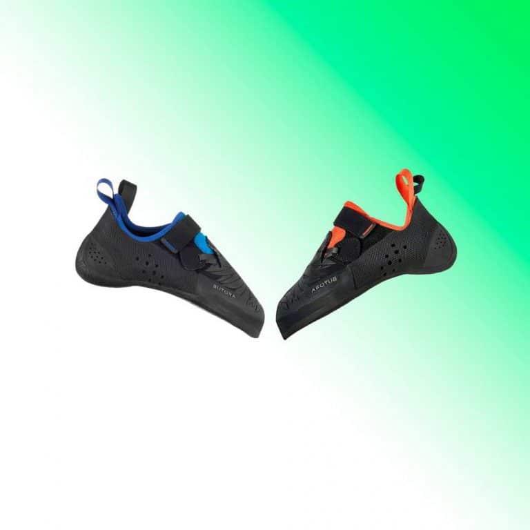 Butora Narsha blue and orange climbing shoes